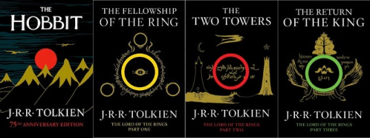 Risultati immagini per lord of the rings books trilogy cover