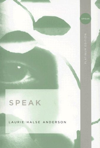 review speak the literary omnivore laurie halse anderson is a young adult novelist whose work i knew vaguely of during my own adolescence and yes i m beyond delighted that i get to put that